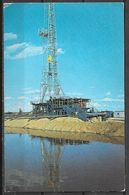 Texas, Wildcat Oil Drilling Rig, Mailed In 1984 - United States
