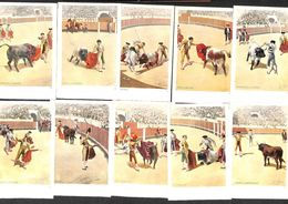 Lot 10 Postcards N° 511-520... (animation) - Stieren