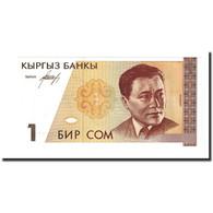 Billet, KYRGYZSTAN, 1 Som, Undated (1994), KM:7, NEUF - Kirghizistan
