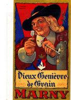 AN 263 / ETIQUETTE VIEUX GENIEVRE  MARNY - Labels