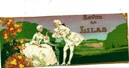 AN 270 / ETIQUETTE  SAVON AU LILAS - Labels