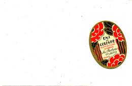 AN 276 /   ETIQUETTE -  EAU DE COLOGNE  LES PARFUMS PIVARD - Labels
