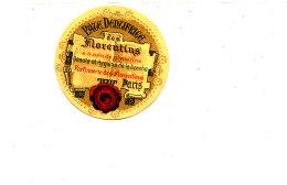 AN 280 /   ETIQUETTE - PATE  DENTIFRICE DES FLORENTINS  PARIS - Labels