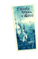 AN 282 /   ETIQUETTE -L'ONDE BLEUE - Labels