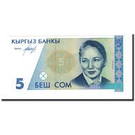 Billet, KYRGYZSTAN, 5 Som, Undated (1994), KM:8, NEUF - Kirghizistan