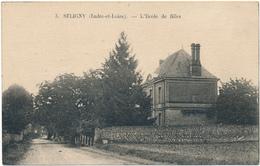 ANTOGNY LE TILLAC, SELIGNY - L'Ecole De Filles - Francia