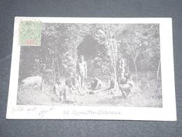 NOUVELLES HÉBRIDES  - Carte Postale , Type Néo Hébridais , Carte Voyagé En 1904 -  L 12652 - Vanuatu