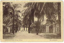 CONGO-BELGE - LEOPOLDVILLE - Rue Principale - Kinshasa - Leopoldville