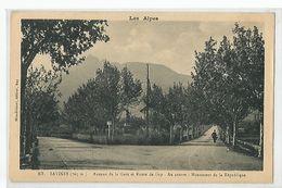 SAVINES , AVENUE DE LA GARE ET ROUTE DE GAP - France