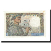 France, 10 Francs, 1943-03-25, KM:99e, SPL, Fayette:8.8 - 1871-1952 Circulated During XXth