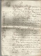 JUGEMENT DU TRIBUNAL DE COMMERCE D'ANGOULEME ,1813 , 11 Pages, 4 Scans, Frais Fr 1.95 E - Old Paper