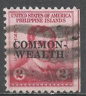 Philippines 1936. Scott #411 (U) José Rizal - Philippines