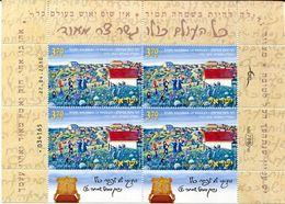 ISRAEL    Rabbi Nachman     2010  -42A - Blocs-feuillets