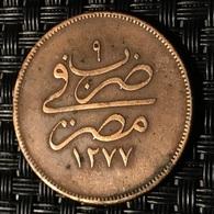 EGYPTE - 10 PARA 9 (1277 AH) 1868 - Egypt