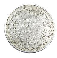 200 Francs - Maroc - 1953 -  Argent -  TB+   - - Morocco