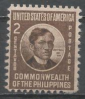 Philippines 1946. Scott #497 (U) José Rizal - Philippines
