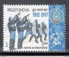 INDIA, 2017, Rapid Action Force, Mititaria, Armed Force, 1v, MNH (**) - Inde