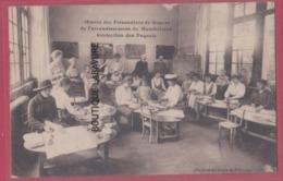 25 - MONTBELIARD---Oeuvre Des Prisonniers De Guerre Confection Des Paquets--belle Carte--animé - Montbéliard