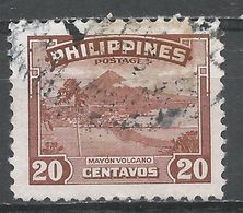 Philippines 1947. Scott #508 (U) Mayon Volcano - Philippines
