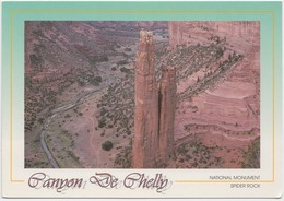 Canyon De Chelly National Monument, Spider Rock, Unused Postcard [20827] - United States