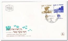 Israël 1977, Nature - FDC