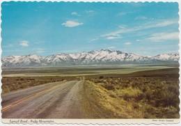 Lamoil Road, Ruby Mountains, Nevada, Postcard [20828] - United States