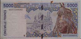WEST AFRICAN STATES P. 713Kd 5000 F 1995 F - Sénégal
