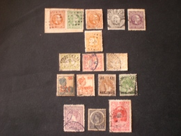 Nederlands-Indië Indie Hollandaise Dutch Indie 1870 -1888 King Wilhelm III + Stock Lot Mix 16 Photo - Nederlands-Indië