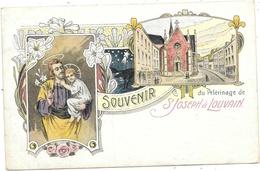 Louvain NA55: Souvenir Du Pèlerinage De St Joseph 1911 - Leuven