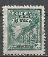 Philippines 1947. Scott #509 (U) Avenue Of Palms - Philippines