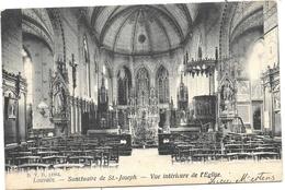 Louvain NA56: Sanctuaire De St-Joseph. Vue Intérieure De L'Eglise 1906 - Leuven