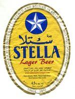 "Bière égyptienne ""Stella"" - Cerveza"