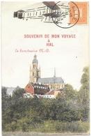 Hal NA8: Souvenir De Mon Voyage à Hal. Le Sanctuaire ND 1913 - Halle