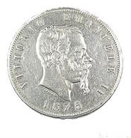 5 Lires -  Italie - 1875 - Argent - TTB - - 1861-1946 : Kingdom