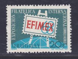URUGUAY AERIENS N°  349 ** MNH Neuf Sans Charnière, TB (D4610) EFIMEX, Exposition Philatélique - Uruguay