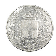5 Lires -  Italie - 1879 - Argent - TB+ - - 1861-1946 : Kingdom