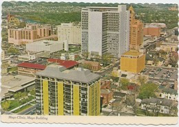 Mayo Clinic, Mayo Building, Rochester, Minnesota, 1980 Used Postcard [20832] - Rochester