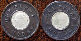 (J) GREAT BRITAIN: Silver Penny MODEL 1848 VF (156) XRARE!!   LIQUIDATION SALE!!!!! - 1816-1901 : Acuñaciones S. XIX