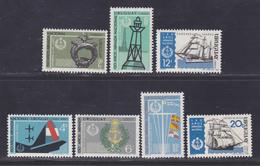 URUGUAY N°  770 à 772 + AERIENS N° 341 0 344 ** MNH Neuf Sans Charnière, TB (D4611) Marine Nationale, Bateaux, Phare - Uruguay