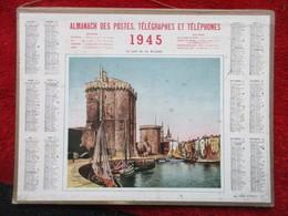Almanach Des Postes, Télégraphes Et Téléphones / De 1945 / Le Port De La Rochelle - Big : 1941-60