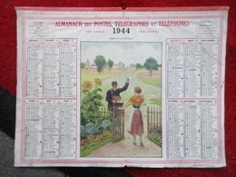 Almanach Des Postes, Télégraphes Et Téléphones / De 1944 / L'heure Du Facteur - Big : 1941-60