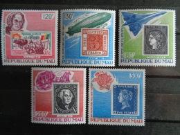 MALI 1979 Y&T N° 330 à 334 ** - 100e ANNIV.DE LA MORT DE SIR ROWLAND HILL - Mali (1959-...)