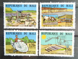 MALI 1980 Y&T N° 369 à 372 ** - ENERGIE SOLAIRE - Malí (1959-...)