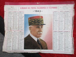 Almanach Des Postes, Télégraphes Et Téléphones / De 1943 - Big : 1941-60