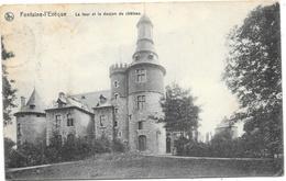 Fontaine-l'Evêque NA51: La Tour Et Le Donjon Du Château 1912 - Fontaine-l'Evêque