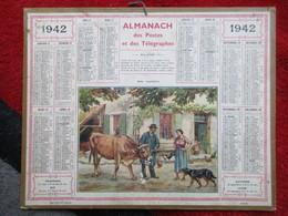 Almanach Des Postes, Télégraphes Et Téléphones / De 1942 - Big : 1941-60