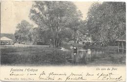 Fontaine-l'Evêque NA53: Un Coin Du Parc 1904 - Fontaine-l'Evêque