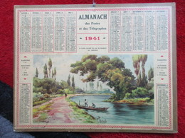 Almanach Des Postes, Télégraphes Et Téléphones / De 1941 / Le Canal Allant Du Lac Du Bourget Au Rhône - Big : 1941-60