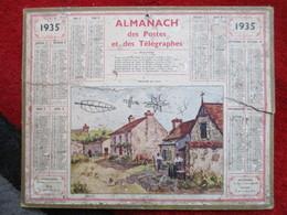 Almanach Des Postes, Télégraphes Et Téléphones / De 1935 - Big : 1921-40