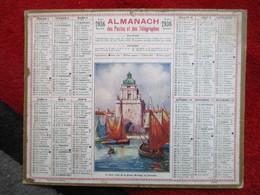 Almanach Des Postes, Télégraphes Et Téléphones / De 1936 - Big : 1921-40